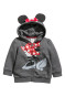 Dark gray/Minnie Mouse