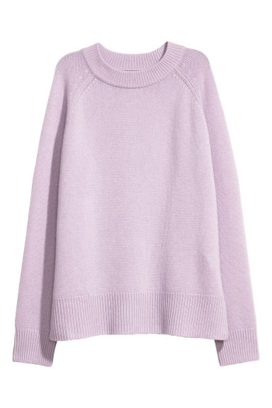 Cashmere jumper - Light purple -  | H&M