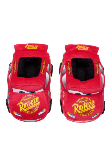 Soft slippers - Red/Cars - Kids | H&M