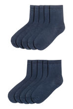 10-pack socks - Dark blue - Kids | H&M 1