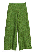 Lace culottes - Green - Ladies | H&M IE 2