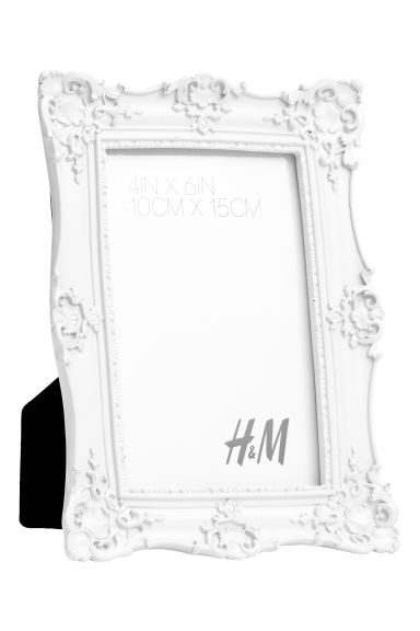Cadre photo - Blanc/carré - HOME | H&M BE