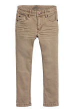 Stretch trousers - Dark beige - Kids | H&M CN 2