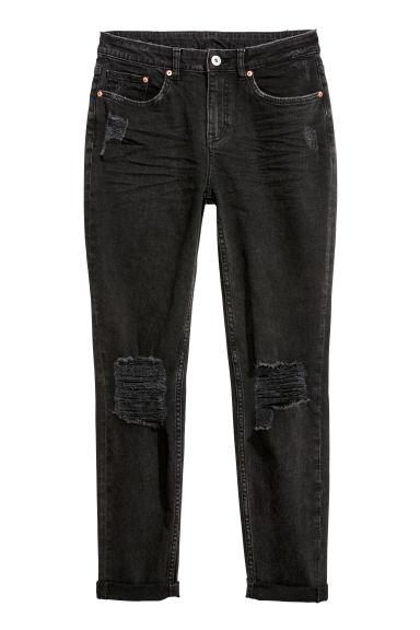 Boyfriend Slim Low Jeans