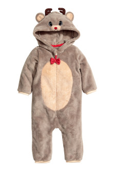 Reindeer all-in-one suit