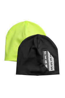 Lot de 2 bonnets réversibles