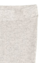 Pull-on cashmere trousers - Light grey - Ladies | H&M CN 3