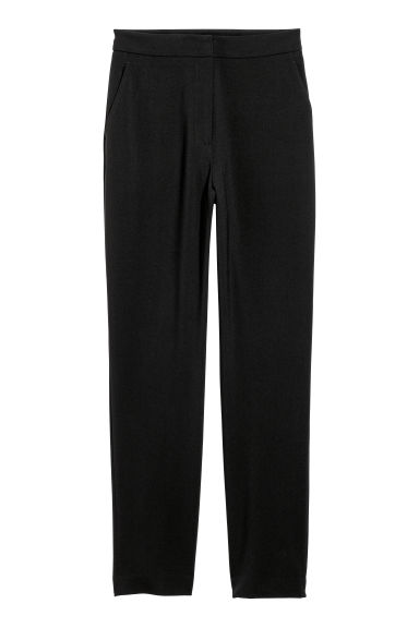 Tailored trousers - Black - Ladies | H&M CN