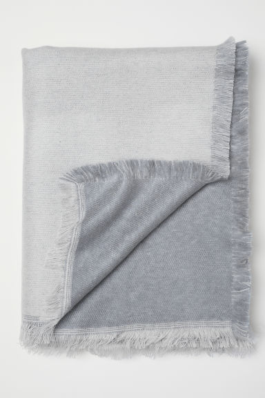 Soft blanket - Grey - Home All | H&M IE