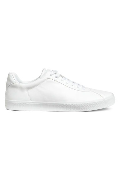 Trainers - White/Imitation leather - Ladies | H&M