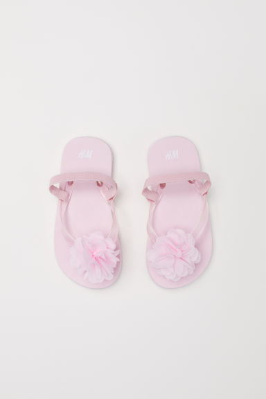 Flip-flops - Light pink - Kids | H&M CN