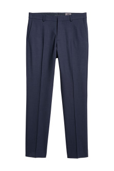 Wool Suit Pants Slim fit