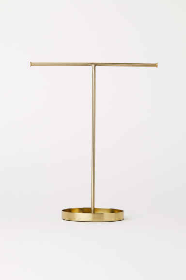 Metal jewellery stand - Gold-coloured - Home All | H&M IE