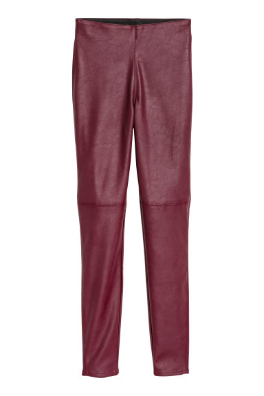 Treggings - Burgundy - Ladies | H&M