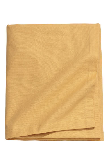Cotton tablecloth - Dark yellow - Home All | H&M IE