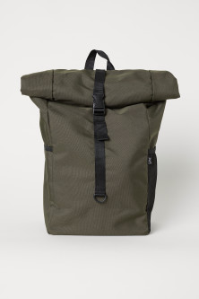 Backpack with Roll-top Opening