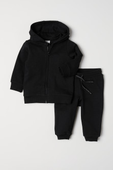 Hooded Jacket and Joggers