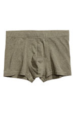 3-pack boxer shorts - Khaki green -  | H&M GB 4