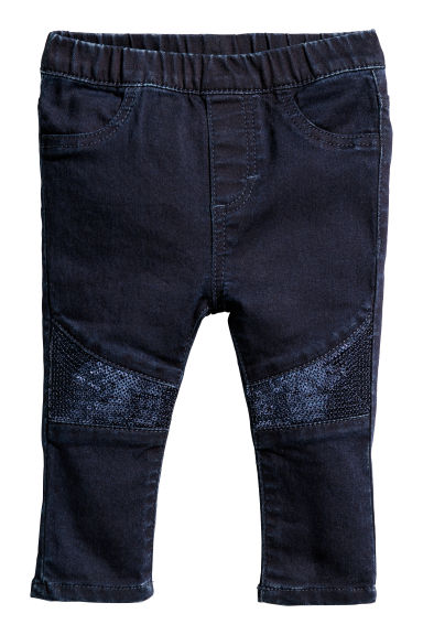 Jegging - Donkerblauw - KINDEREN | H&M BE