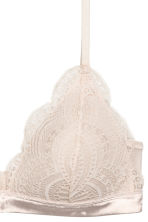 Non-wired push-up bra - Light powder beige - Ladies | H&M GB 3