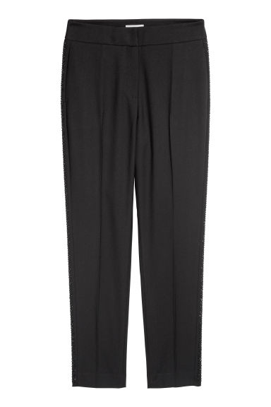 Suit trousers - Black -  | H&M GB