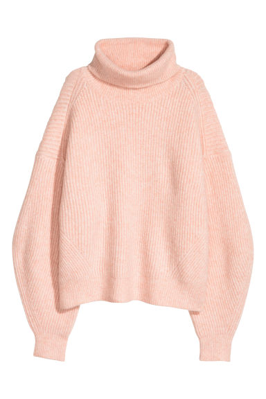 Knitted jumper - Light pink -  | H&M