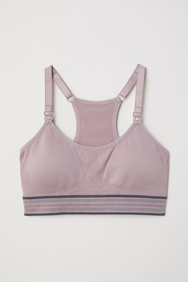 MAMA Nursing Sports Bra Model