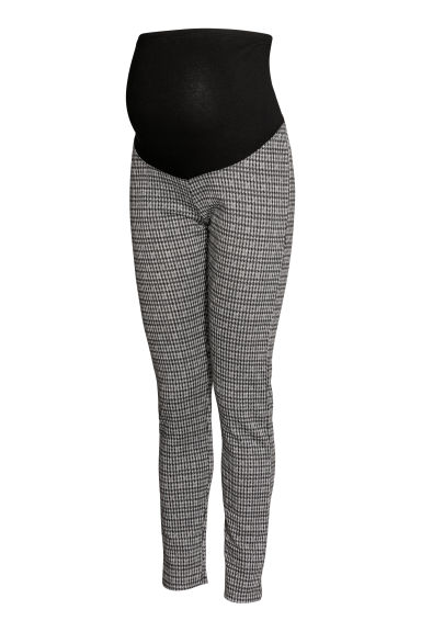 MAMA Leggings - Black/Grey patterned - Ladies | H&M CN