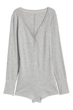Jersey playsuit - Grey - Ladies | H&M 2