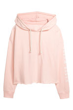 Pyjamas with a top and shorts - Light pink - Ladies | H&M CA 3