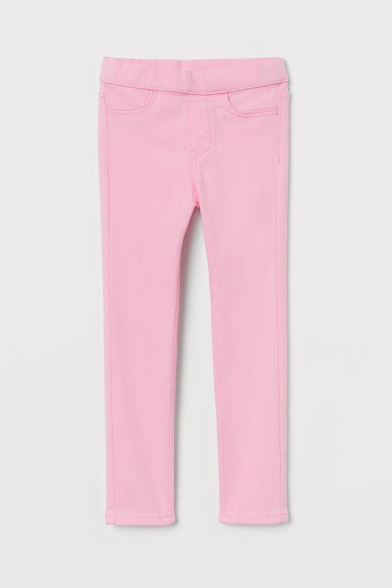 Twill treggings - Pink - Kids | H&M GB