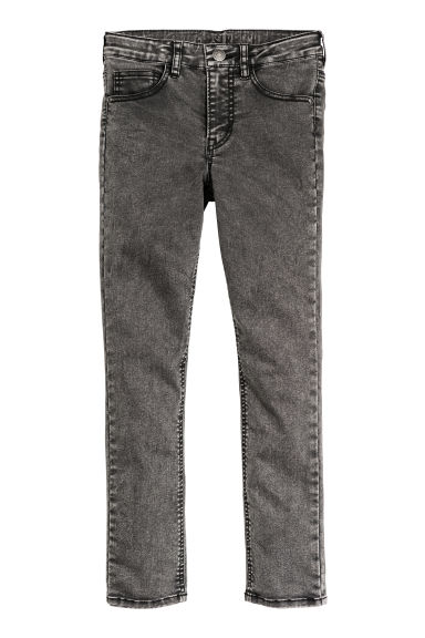Superstretch Skinny Fit Jeans - Koyu gri kot -  | H&M TR