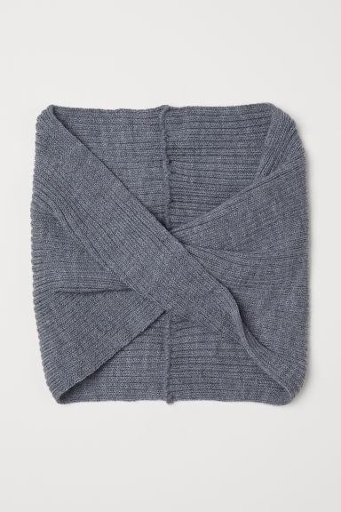Knit Tube Scarf
