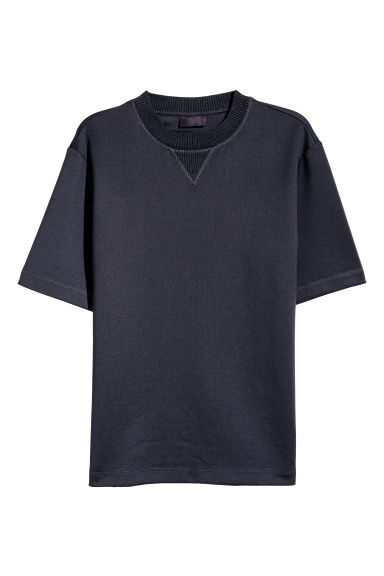 Scuba T-shirt - Dark blue - Men | H&M CN
