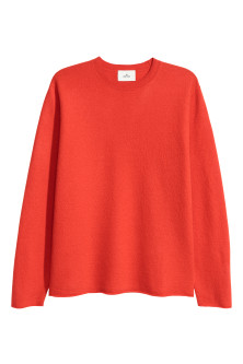 Boiled-wool Sweater