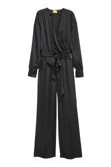 Jumpsuit aus Satin
