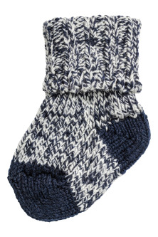 Thick wool-blend socks