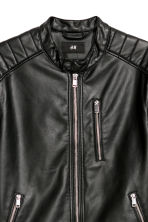 Biker jacket - Black -  | H&M IE 3