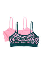 2er-Pack Jerseytops - Rosa/Leopardenmuster - KINDER | H&M CH 1