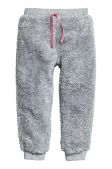 Pile joggers