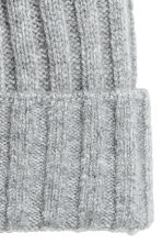 Cashmere-blend hat - Light grey - Ladies | H&M 2