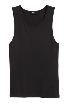 Pima cotton vest top