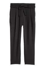 Wide trousers - Black - Ladies | H&M IE 1