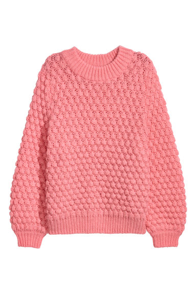 Knitted jumper - Light pink - Ladies | H&M GB