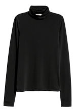 Polo-neck top - Black - Ladies | H&M IE 2