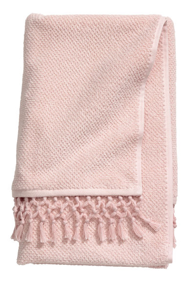 Telo bagno con nappine - Rosa - HOME | H&M IT