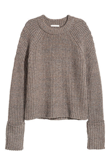 Shimmering jumper - Gold-coloured - Ladies | H&M IE