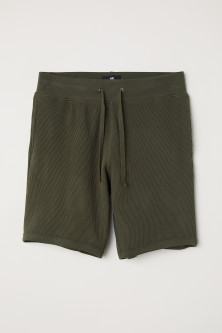 Shorts a nido d'ape Regular