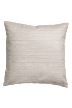 Patterned cushion cover - Light mole - Home All | H&M IE 1