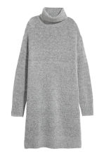 Knitted dress - Grey - Ladies | H&M 2
